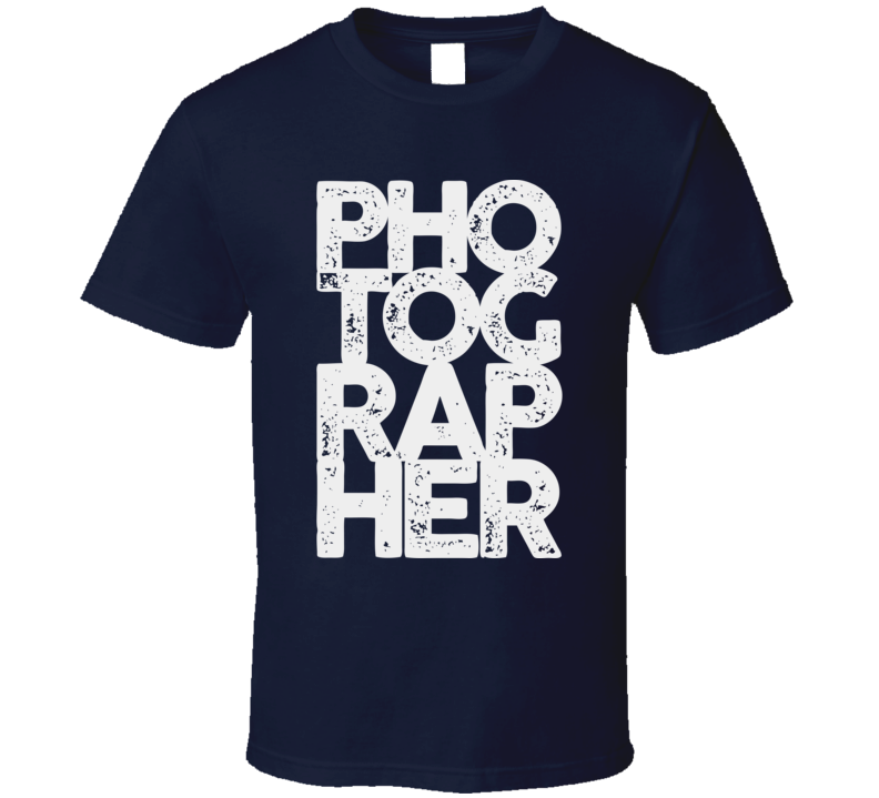 Photographer Pho Tog Rap Her Funny Photography T Shirt