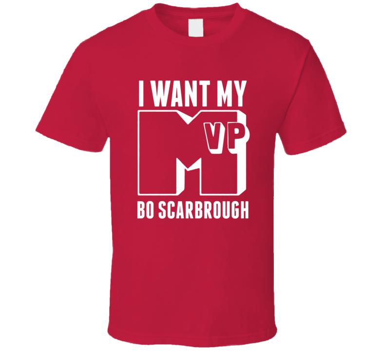 I Want My MVP Bo Scarbrough Alabama College Athlete T Shirt