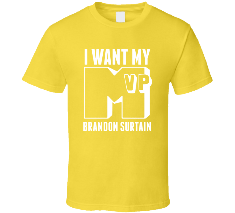 I Want My MVP Brandon Surtain LA State College Athlete T Shirt