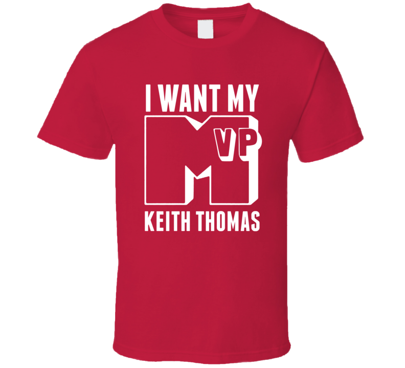 I Want My MVP Keith Thomas St Johns Basketball Athlete T Shirt