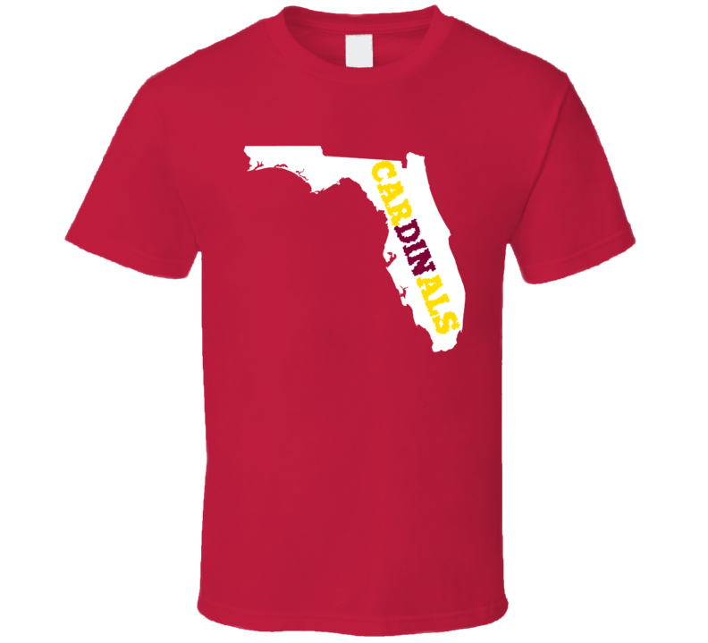 Arizona Football Fan in Florida State T Shirt