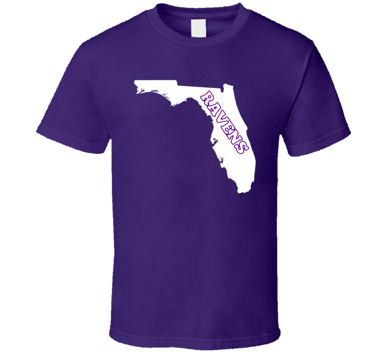 Baltimore Football Fan in Florida State T Shirt