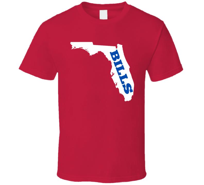 Buffalo Football Fan in California State T Shirt