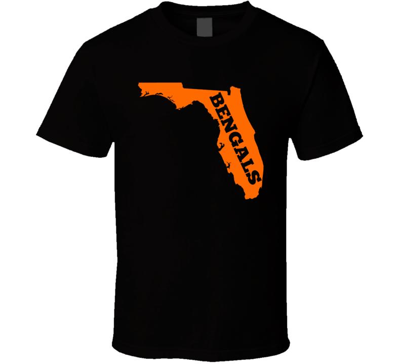Cincinnati Football Fan in Florida State T Shirt