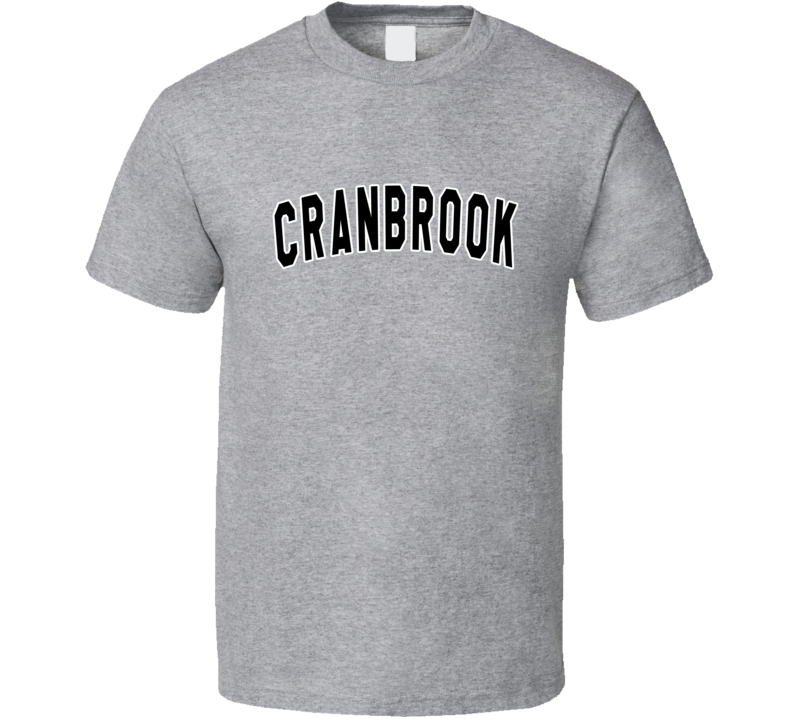 Cranbrook Tim Taylor Home Improvement TV Show T Shirt