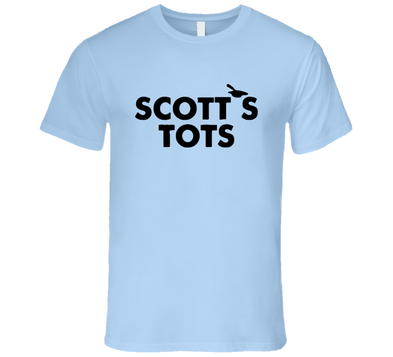 Scotts Tots Popular The Office TV Show T Shirt