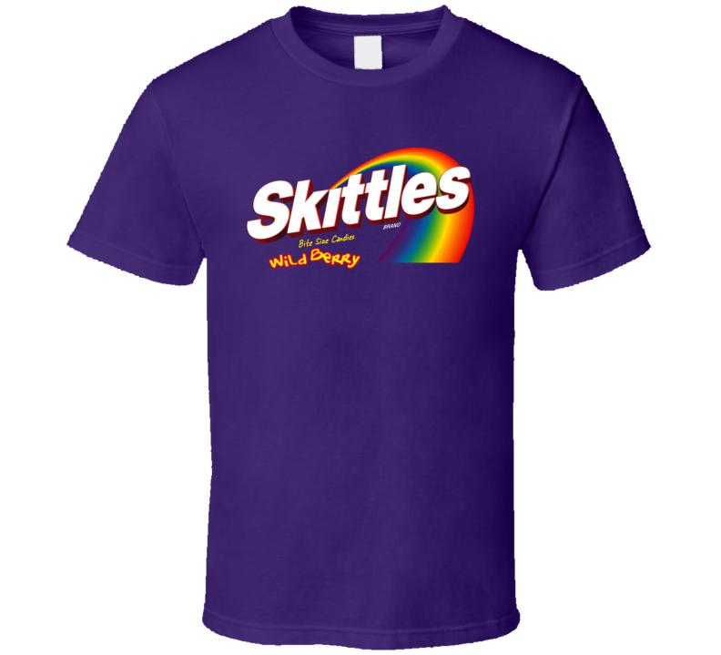 Skittles Wild Berry Candy T Shirt