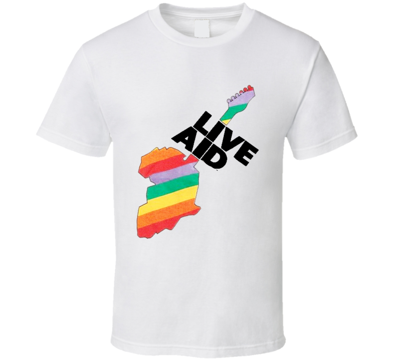 Live Aid Old School Popular Movie T Shirt