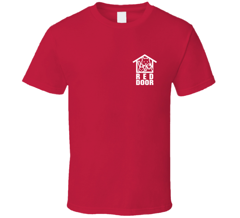 Red Door Animal Shelter Drinking Buddies Popular Movie T Shirt