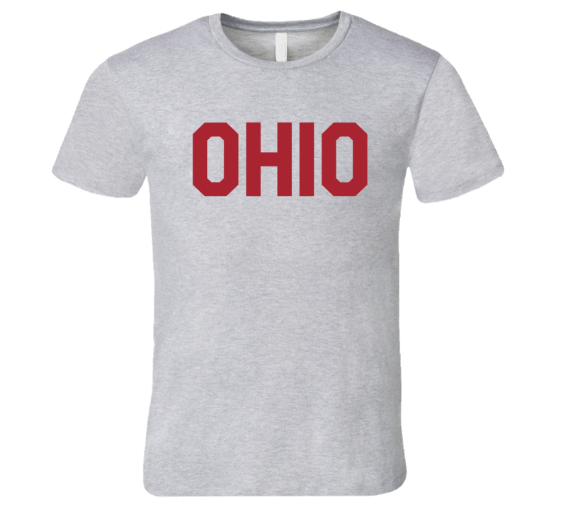 Ohio Popular Liberal Arts Movie T Shirt