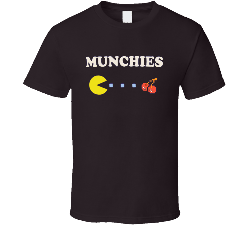 Munchies Pac Man Funny Drillbit Taylor Movie T Shirt