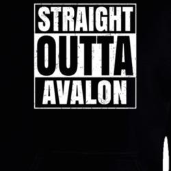 Straight Outta West Alexandria Ohio City Compton Parody Grunge T Shirt