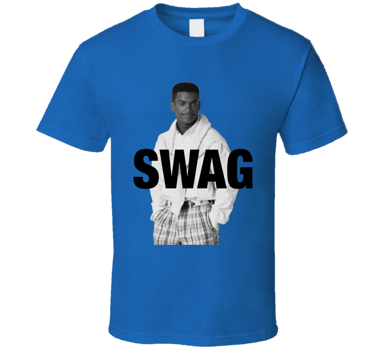 Fresh Prince Of Bel Air Carlton Swag Funny Graphic TV Show Apparel T Shirt