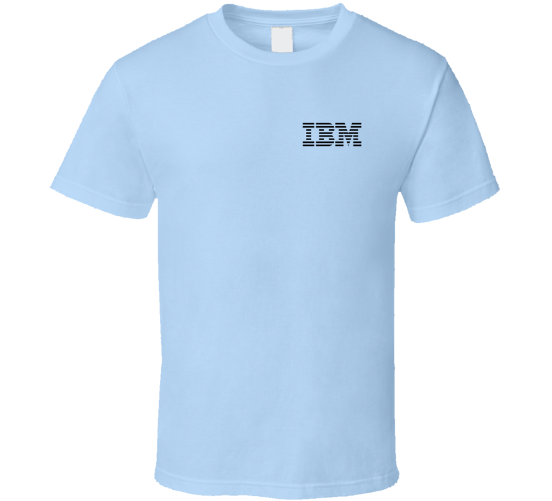 IBM Vintage Computer Geek Nerd Graphic Techy Tee Shirt