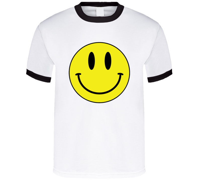 Smiley Face Fun Vintage Graphic Tee Shirt