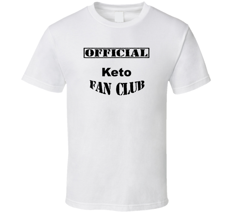 Official Keto Fan Club T Shirt