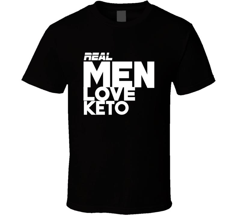 Real Men Love Keto T Shirt
