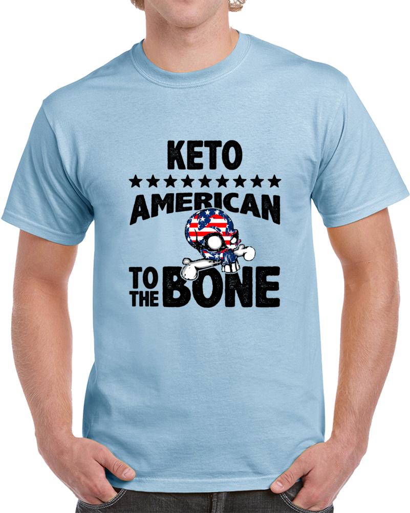 Keto American To The Bone T Shirt