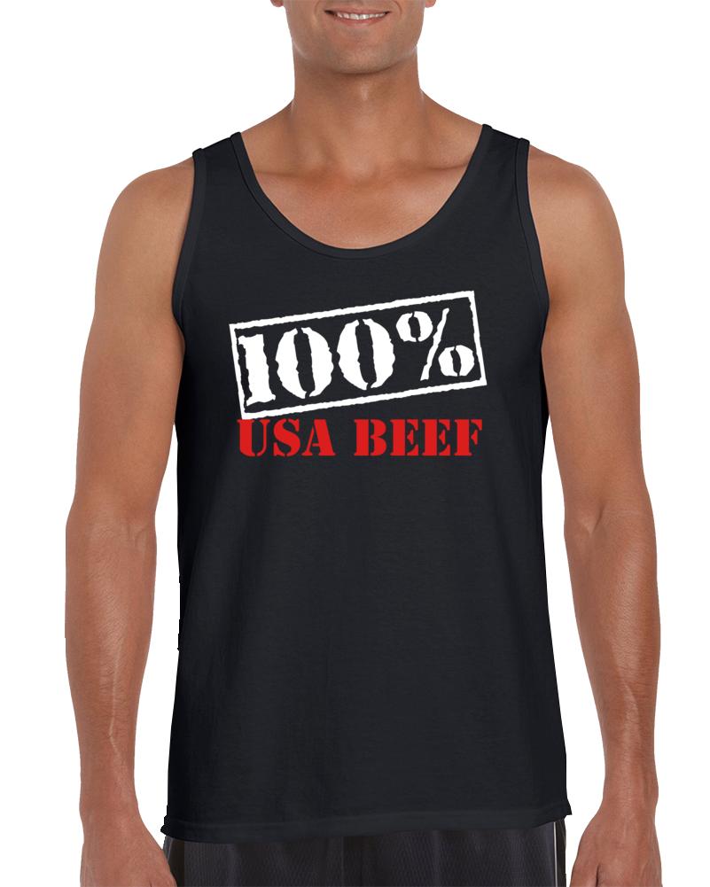 100% Usa Beef Tanktop