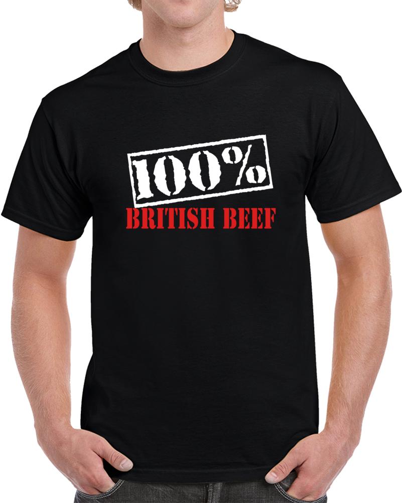 100% British Beef T Shirt