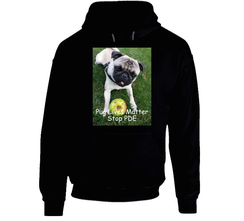 Pug Lives Matter Hoodie