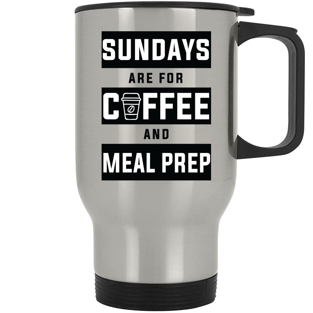 Sundays Are For Coffee And Meal Prep Mug