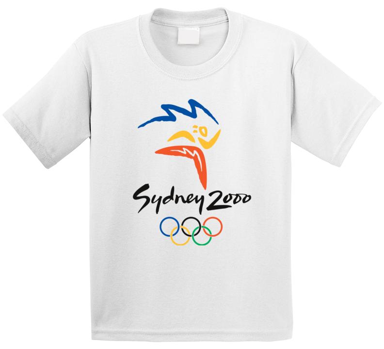 Sydney Summer 2000 Olympics Retro Logo World Olympiad Event T Shirt
