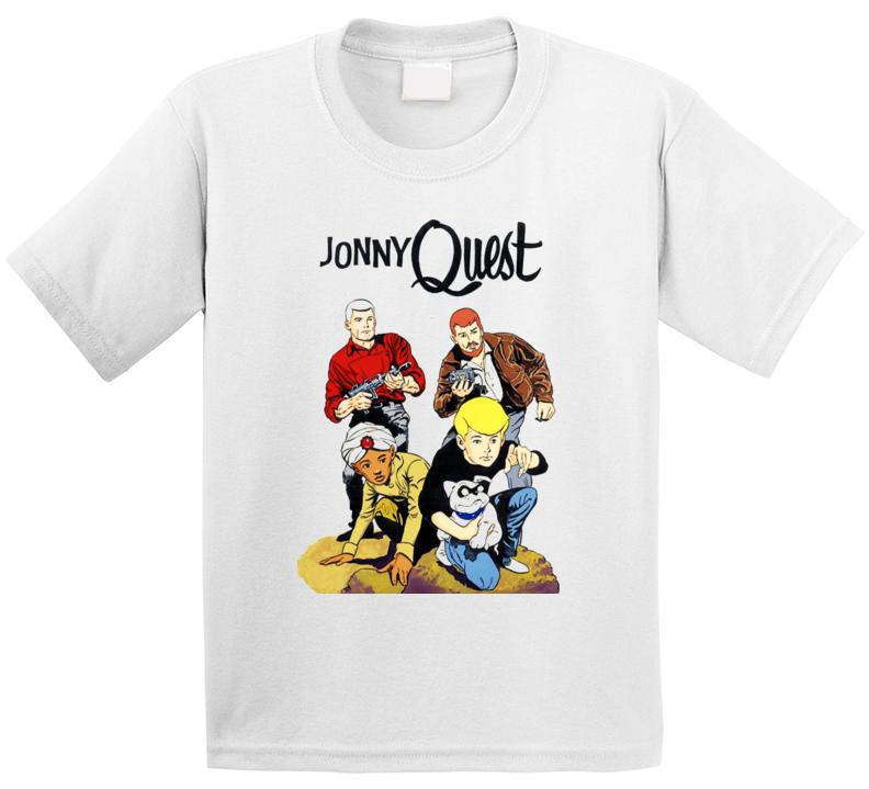 Jonny Quest Cool Retor Group T Shirt