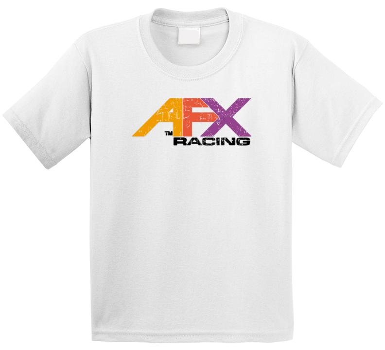 Afx Racing Automobile Car Auto Motor Parts Cool Brand Logo Emblem T Shirt