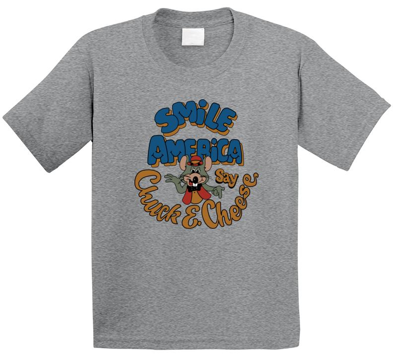 Chuck E Cheese Smile America T Shirt