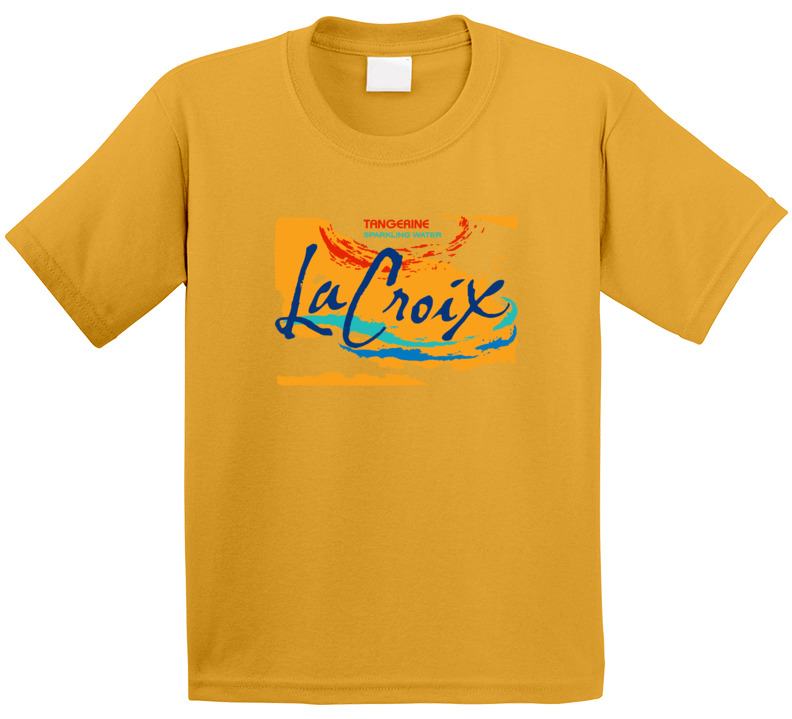 La Croix Tangerine Sparkling Water Halloween Costume T Shirt