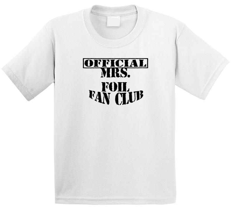 Mrs Foil The Upside Down Show Tv Fan Club T Shirt