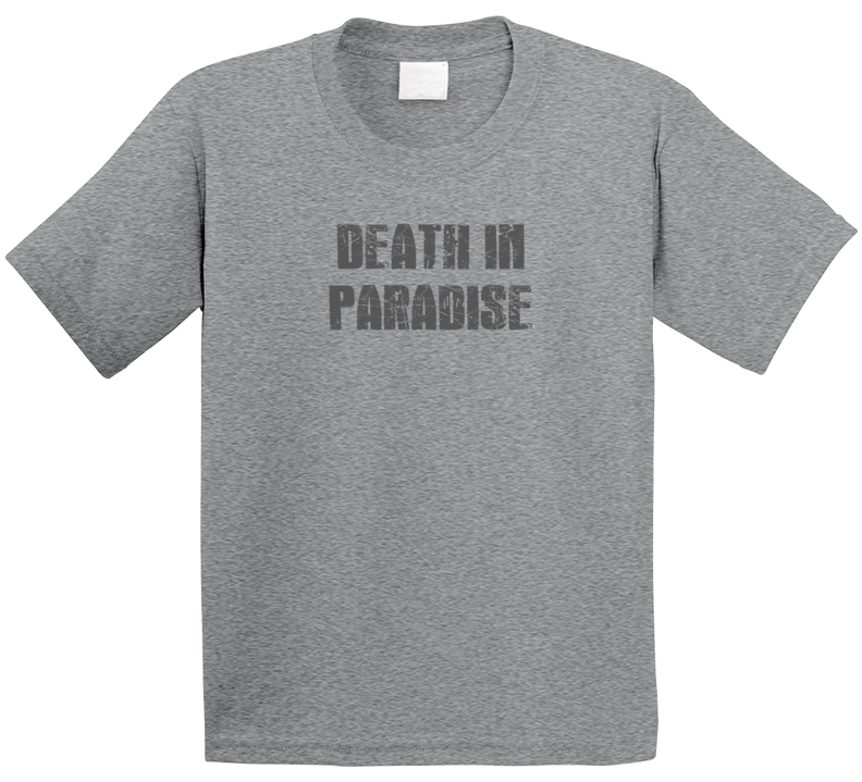 Death In Paradise Tv Show Popular Distressed Look T Shirt