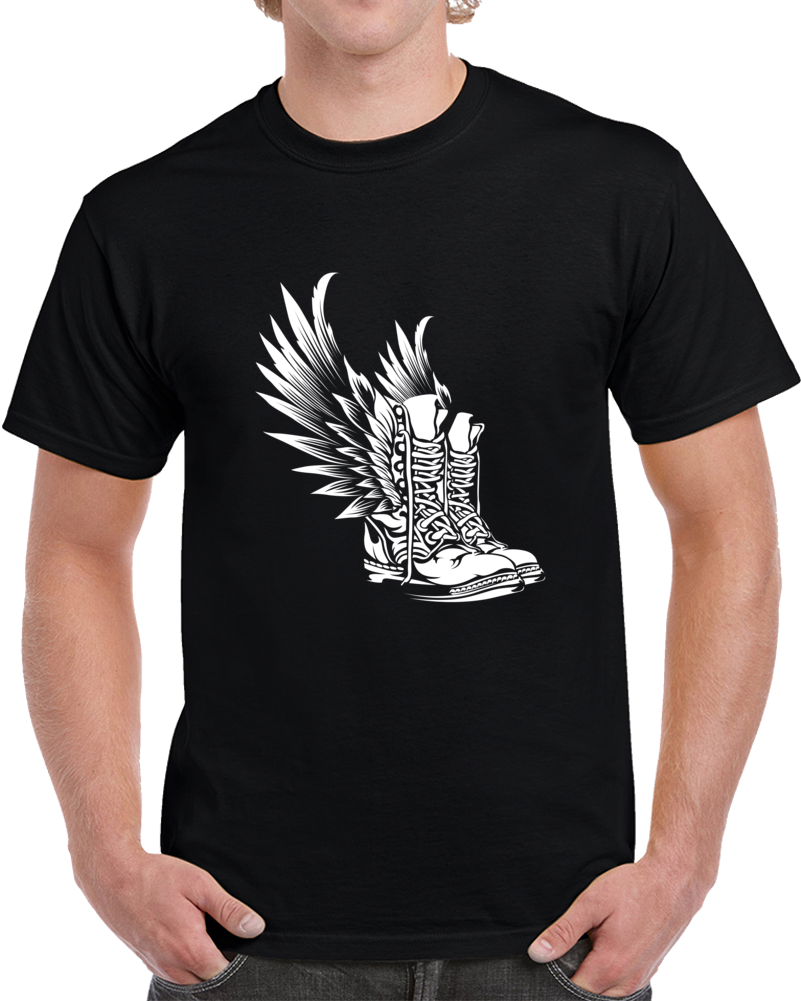 Fly Boots T Shirt