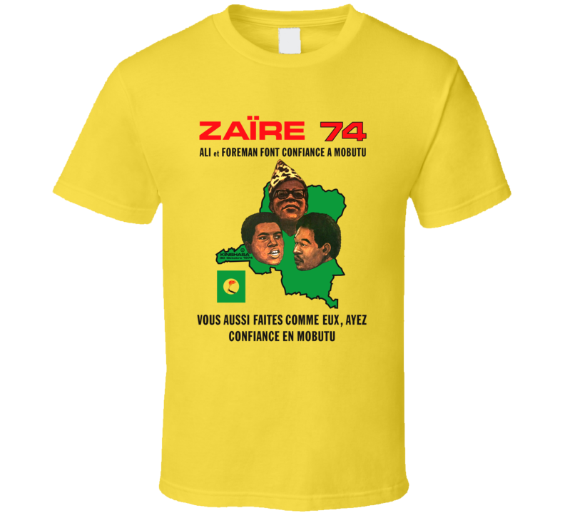 Rumble in the Jungle '74 T Shirt