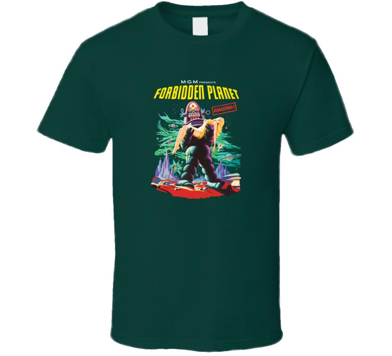 Forbidden Planet, T-Shirt
