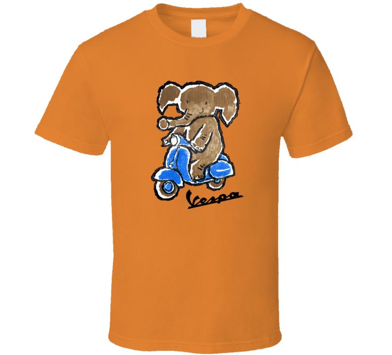 Vespa Elephant, T-Shirt