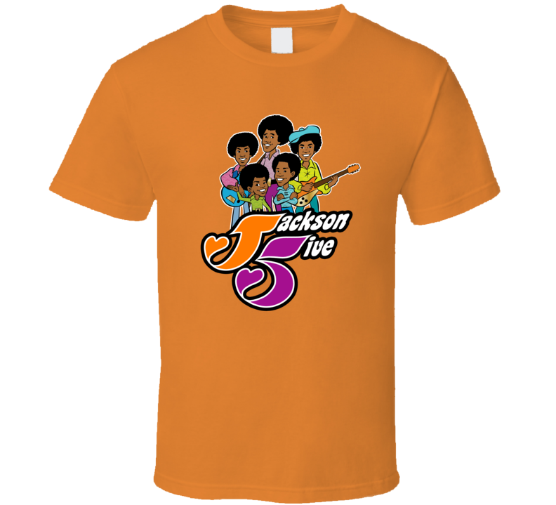 Jackson 5, five cartoon T-Shirt