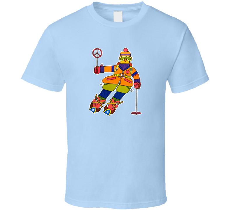 Downhill Skier, T-Shirt