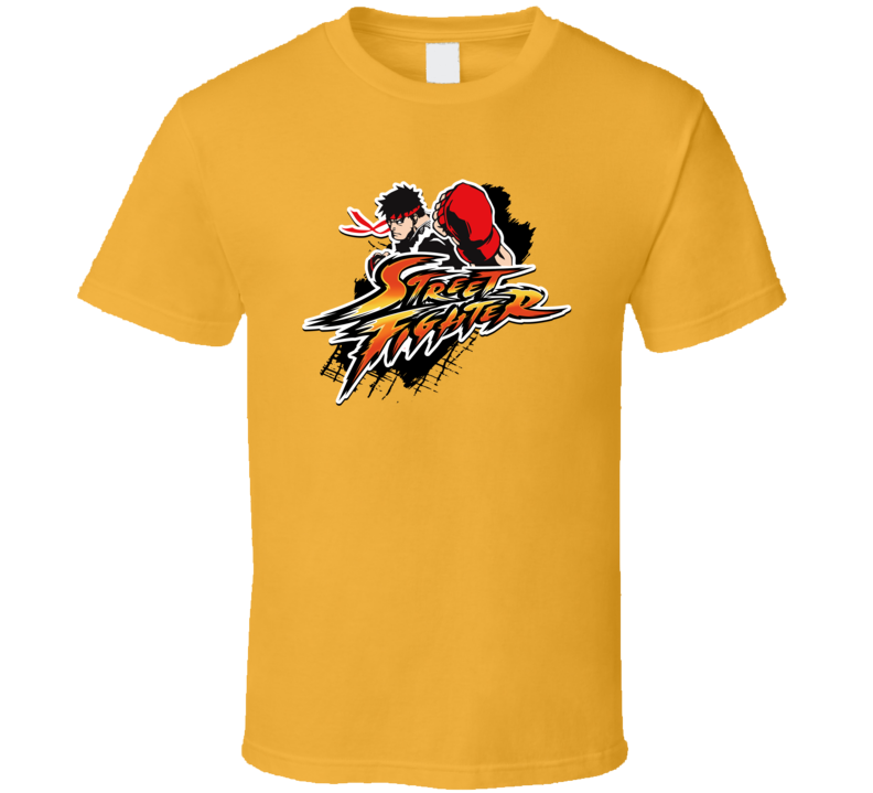 Street Fighter, Classic Arcade T-shirt