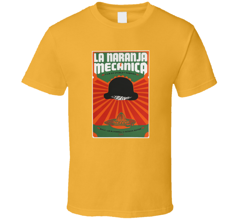 A Clockwork Orange, Spanish T-Shirt