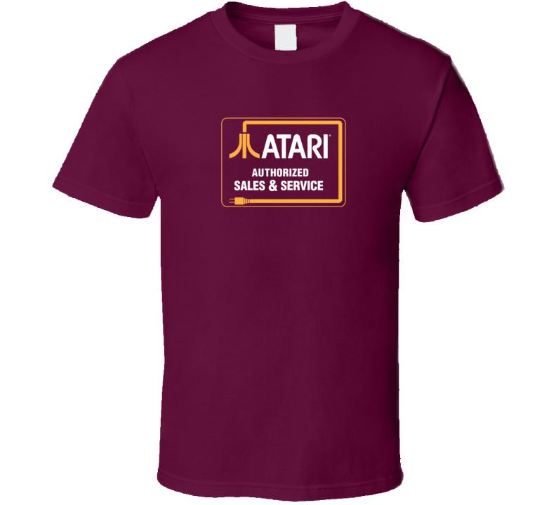 Atari Sales & Service, T-Shirt
