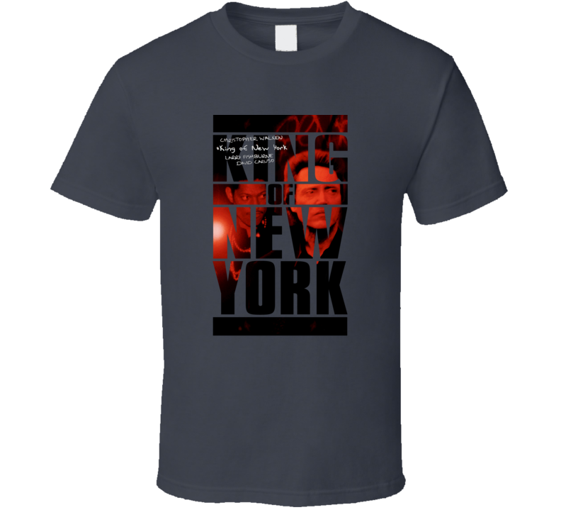King of New York, T-Shirt