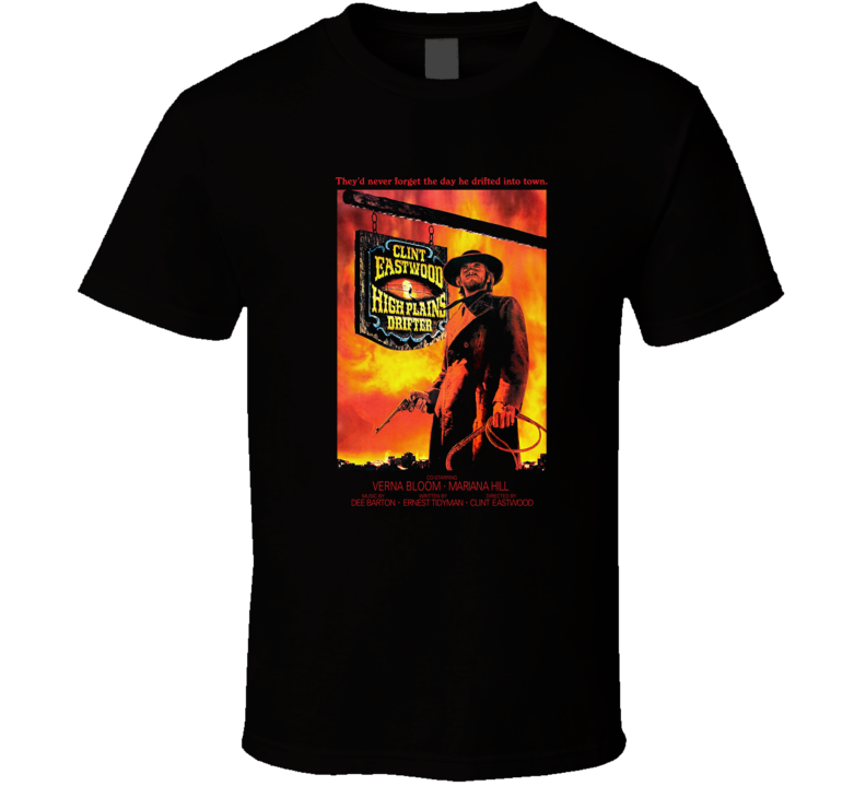 High Plains Drifter, T-Shirt, Clint Eastwood, Western, Cowboy, Outlaw