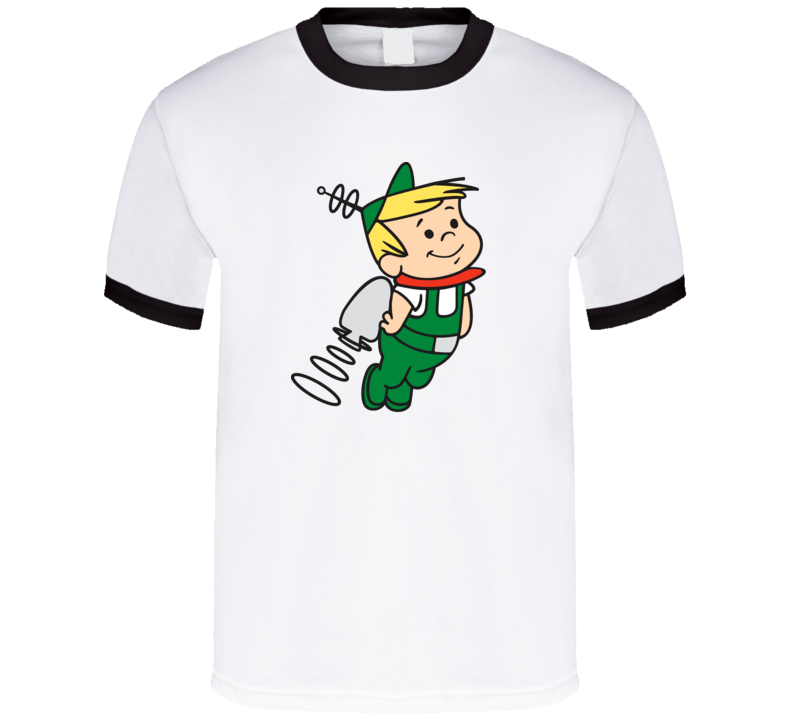 Elroy Jetson, T-shirt, George, Hanna-barbara, Animated, Tv, Cute, Jetpack