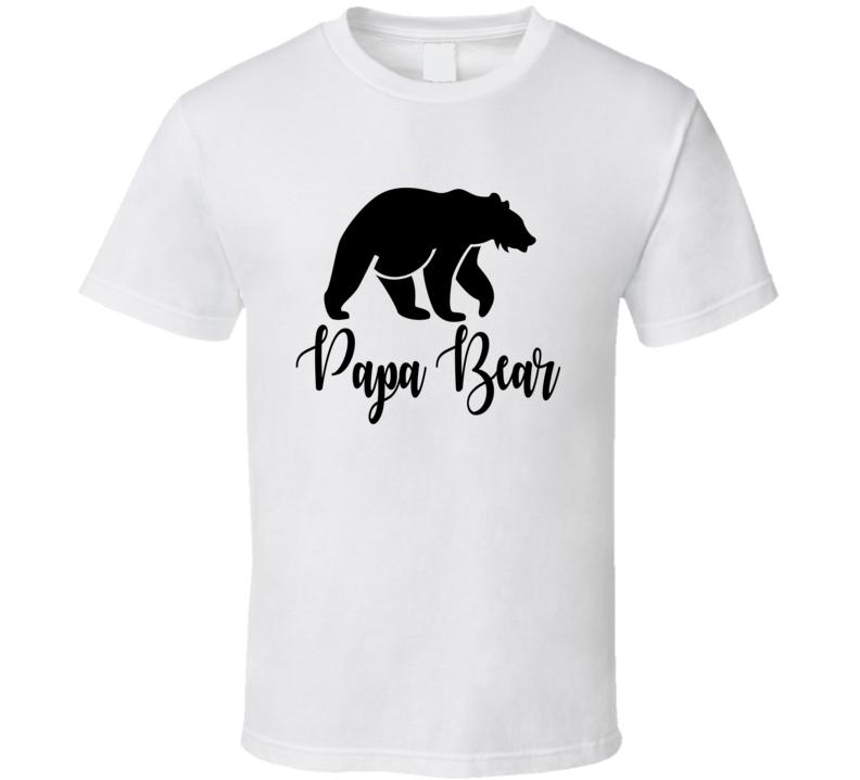 Papa Bear Matching Family Shirt