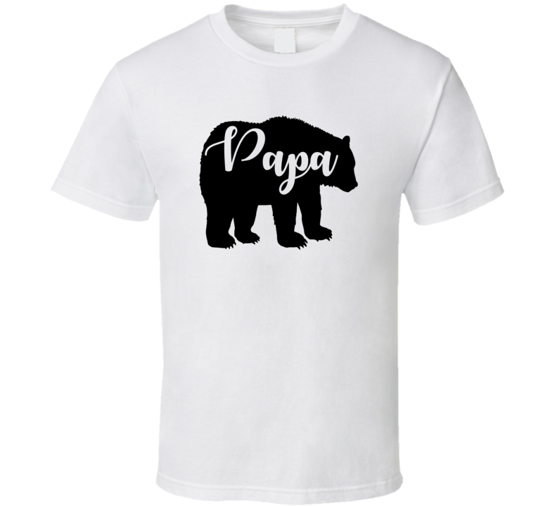 Papa Bear Family Matching Shirt