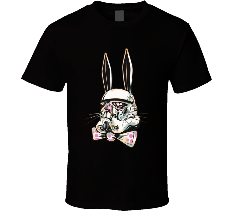 Bunny Rabbit Stormtrooper Funny Easter Shirt