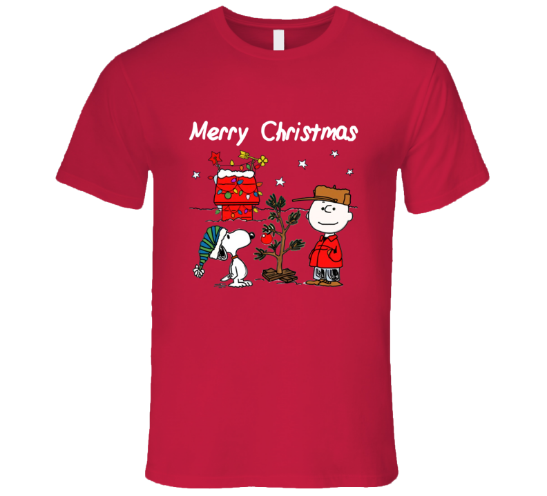 charlie brown christmas graphic t shirt snoopy christmas tee - Snoopy Christmas Shirt