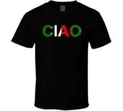 Ciao Black T Shirt